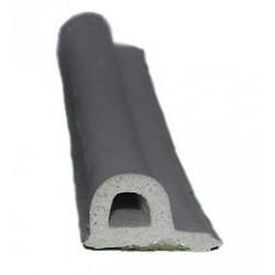 Profil P uszczelka samoprzylepna 9x5,5mm 100m biała