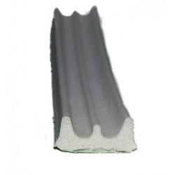 Profil E uszczelka samoprzylepna 9x4mm 150m biała